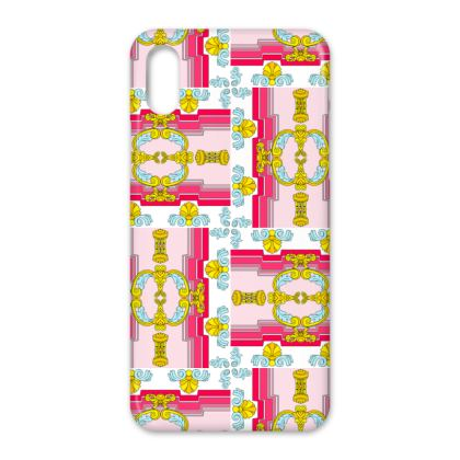 Roads of Barcelona - Pink - iPhone Case