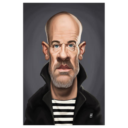 Michael Stipe Celebrity Caricature Art Print