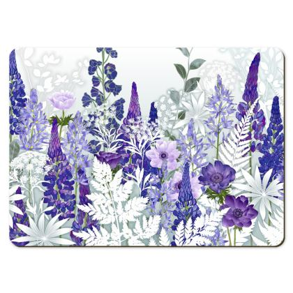 Large Placemats - Daydream In Blue