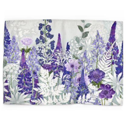 Daydream in Blue Tea Towel
