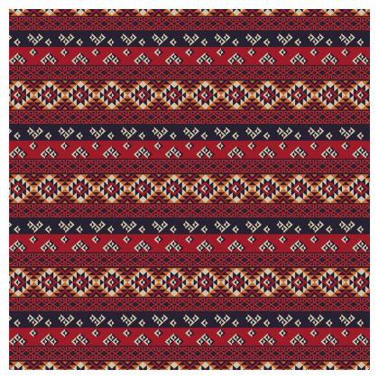 Tablecloth Mayan Pattern