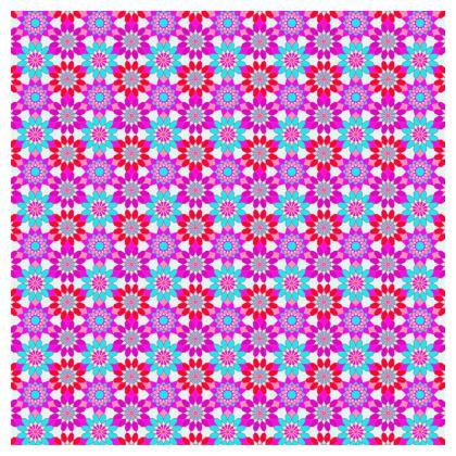 Tablecloth Floral Kaleidoscope