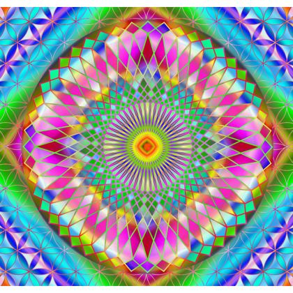 Tablecloth Disco Mandala