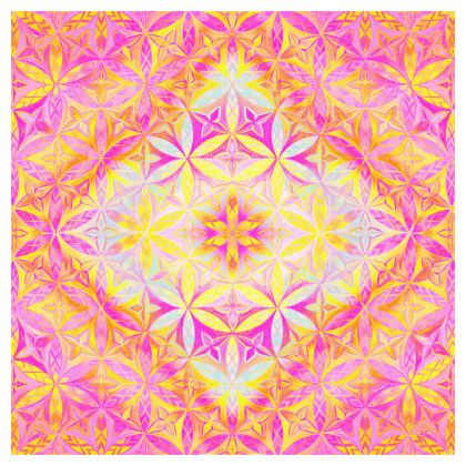 Tablecloth Kaleidoscope Flower Of Life