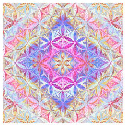 Tablecloth Kaleidoscope Flower Of Life 2