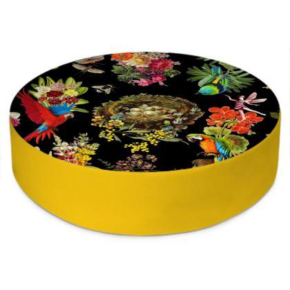 Nesting At Midnight - Sunflower Yellow