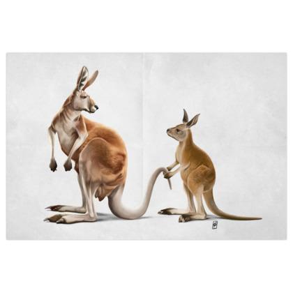 Being Tailed ~ Wordless Animal Behaviour Art Print