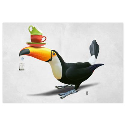 Tea for Tou ~ Wordless Animal Behaviour Art Print