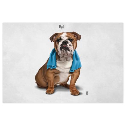 Bull ~ Titled Animal Behaviour Art Print