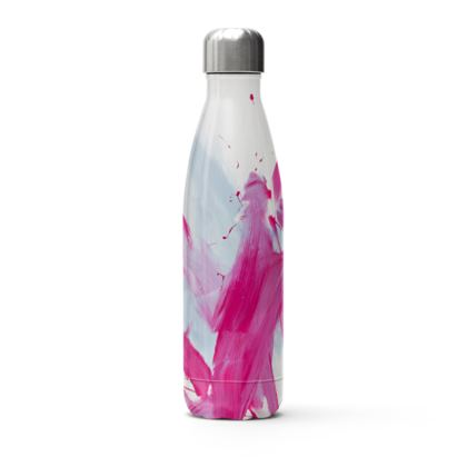 Stainless Steel Thermal Bottle pink meets blue