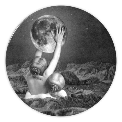 Under Sappho's Moon China Plate