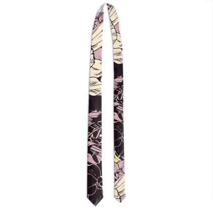 Mens Neck Tie -  French Floral
