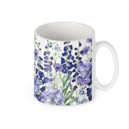 Ceramic Mug - Agapanthus Meanderings