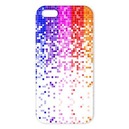 Rainbow Pixels - iPhone Case
