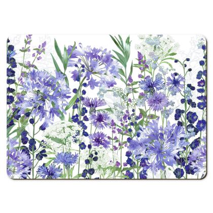Large Placemats - Agapanthus Meanderings