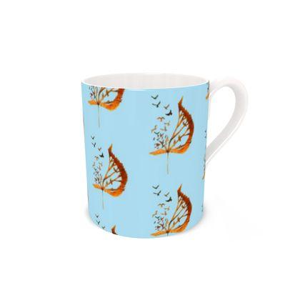'Bird flight'Bone China Mug