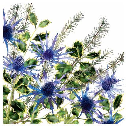 Holly Bouquet Cushion