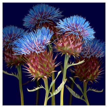 Scottish Thistle Luxury Cushion