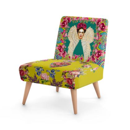 Frida Kahlo - Wings And Heart *Teal/Turmeric