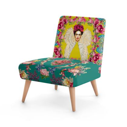 Frida Kahlo - Wings And Heart * Turmeric/Teal