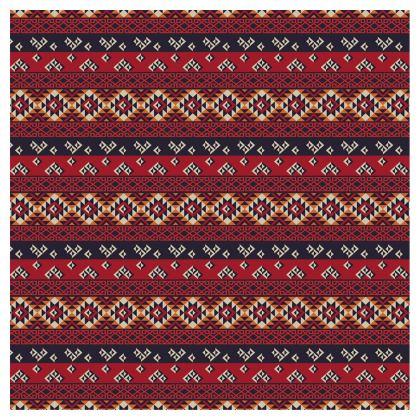 Ladies Bomber Jacket Mayan Pattern