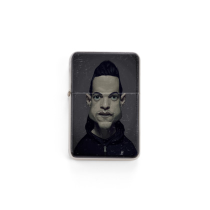 Rami Malek Celebrity Caricature Lighter