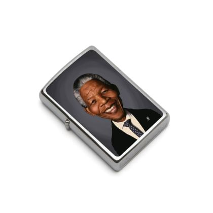 Nelson Mandela Celebrity Caricature Lighter
