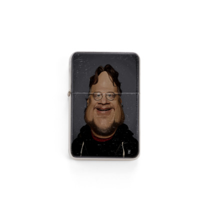 Guillermo Del Toro Celebrity Caricature Lighter