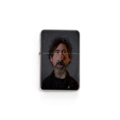Tim Burton Celebrity Caricature Lighter