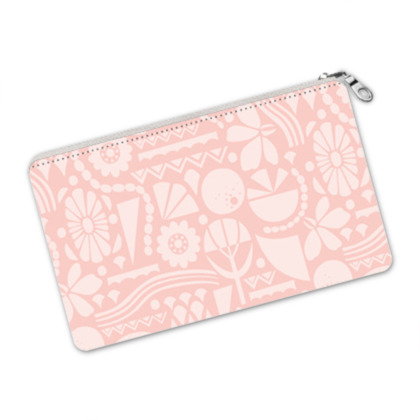 Eclectic Garden Pink Pencil Case