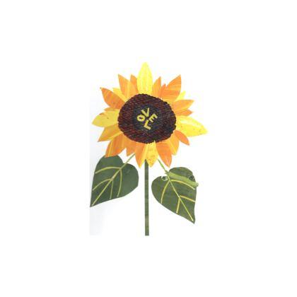 Zip Top Handbag with 'Sunflower Love' design