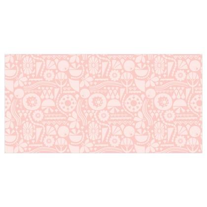 Eclectic Garden Pink Wallpaper