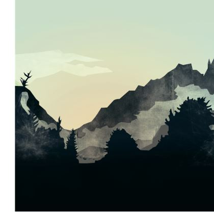 Misty Mountain Double Deckchair
