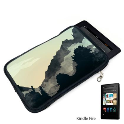 Misty Mountain Kindle Case
