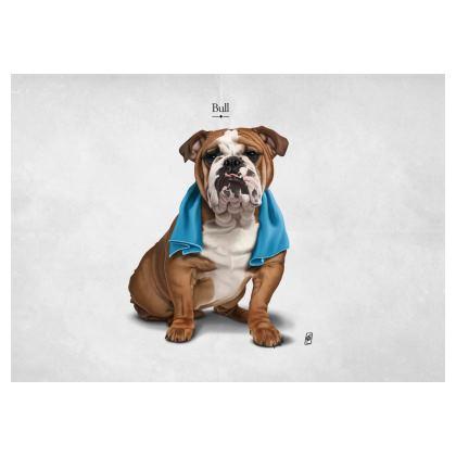 Bull ~ Title Animal Behaviour Art Postcard