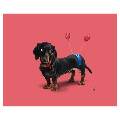 Butt ~ Colour Animal Behaviour Art Postcard