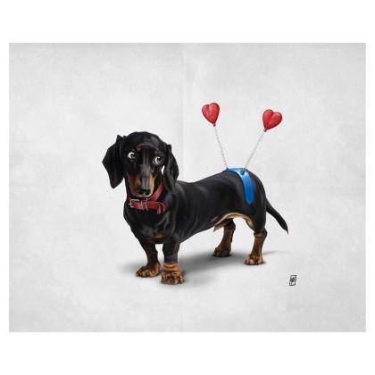 Butt ~ Wordless Animal Behaviour Art Postcard