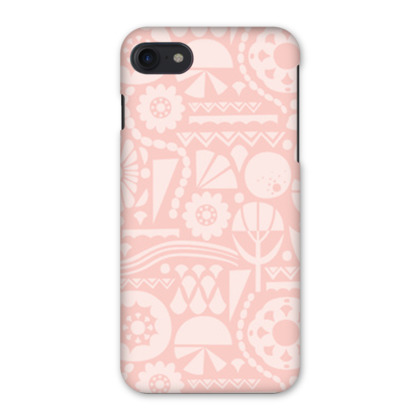 Eclectic Garden Pink iPhone 7 Case