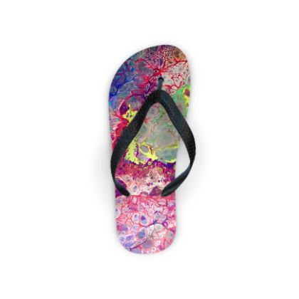 Vivid Flip Flops