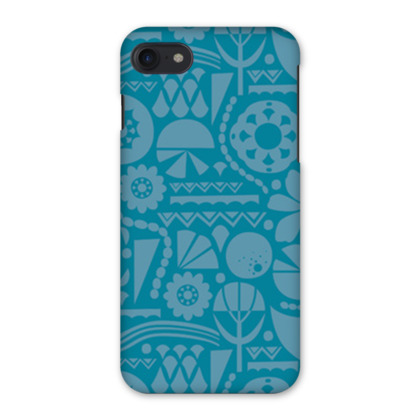 Eclectic Garden Teal iPhone 7 Case