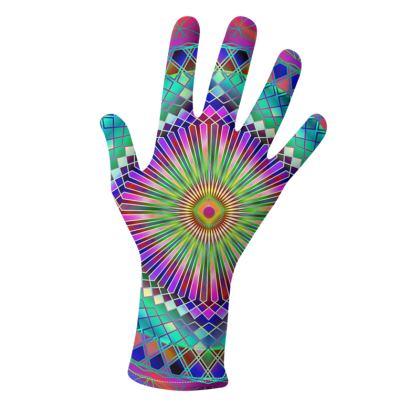 Gloves Sun Mandala