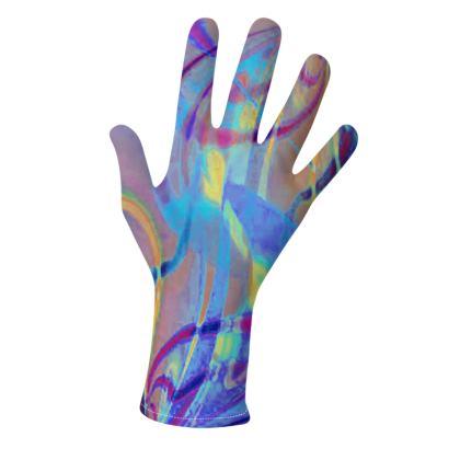 Gloves Infinity Blue