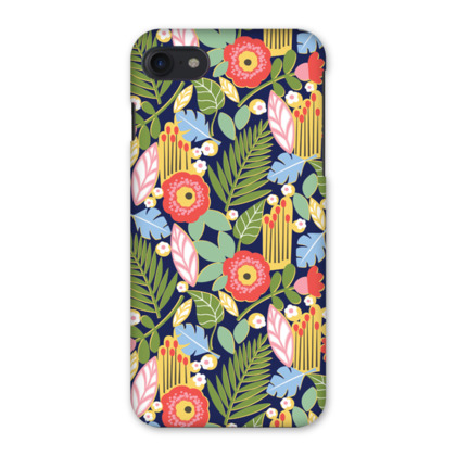 Paradise House Tropical Floral iPhone 7 Case
