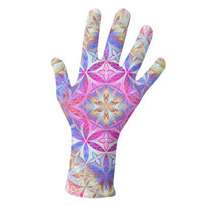 Gloves Kaleidoscope Flower Of Life 2