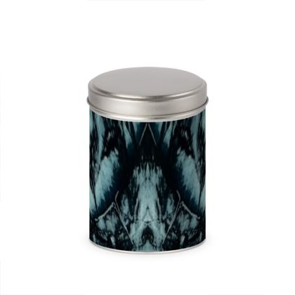 Christmas Star cylinder tins