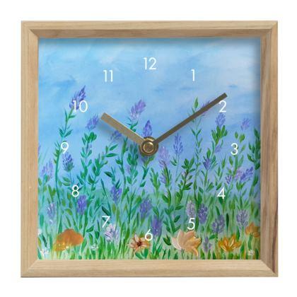 Le temps avec la vie en fleur