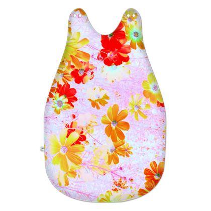 Baby Sleeping Bag Cosmos Flowers