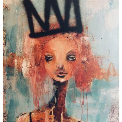 No 1 Queen cushion