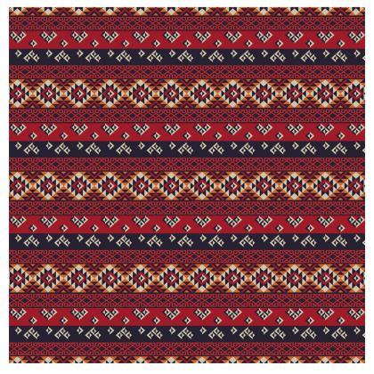 Mens Wallet Mayan Pattern