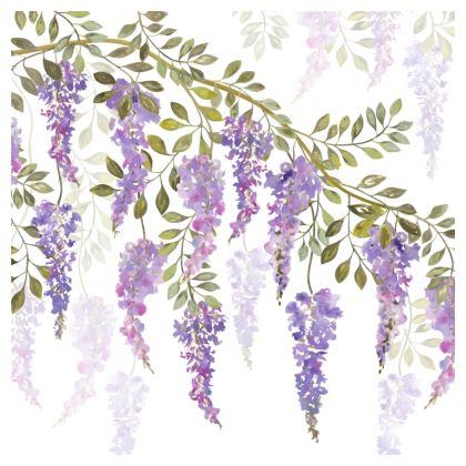 Wisteria Blossoms Cushion